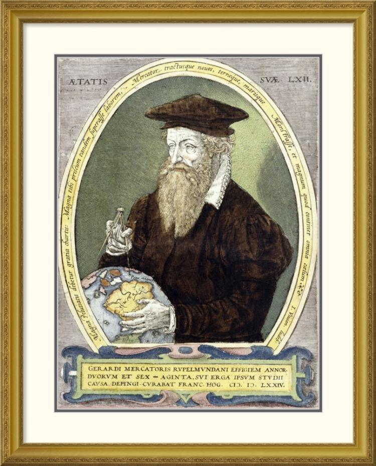 Bernardus Busius - Gerard Mercator