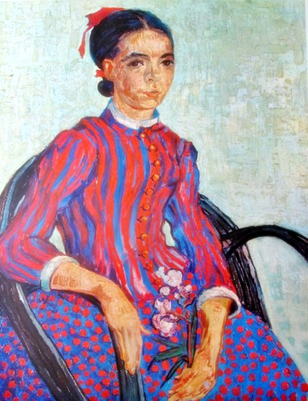 Vincent Van Gogh La Mousme – 1960