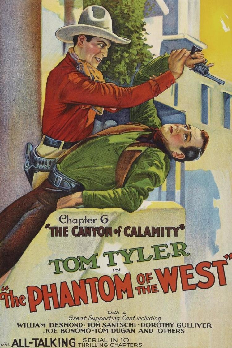 UNKNOWN - VINTAGE WESTERNS: PHANTOM OF THE WEST - CANYON OF CALAMITY