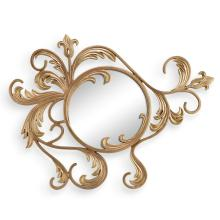 Leaf and Blossom Wall Mirror