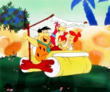 The Flintstones Family Outing