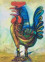 #49 The Rooster Pablo Picasso Estate Signed Giclee