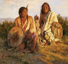 Howard Terpning - Medicine Shields of the Blackfoot