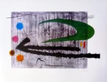 Joan Miro Toward The Left