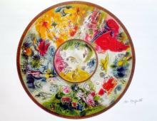 Marc Chagall Paris Opera Ceiling