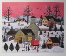 Jane Wooster Scott Pennsylvania Dutch Treats Hand Signed Ltd Edition Lithograph