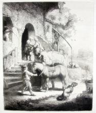 Rembrandt The Good Samaritan Etching By Amand Durand