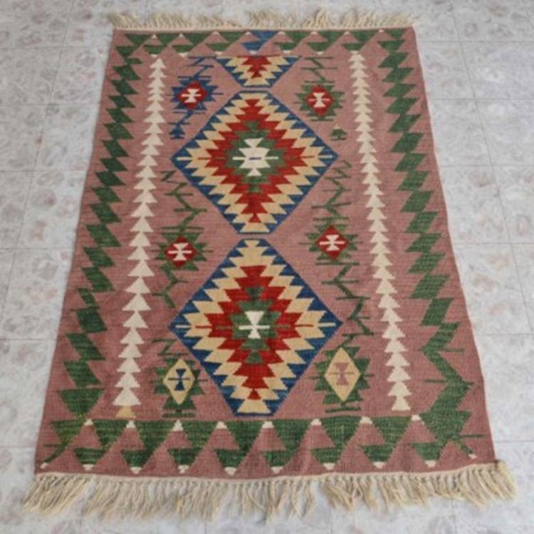"Southwest Design Style Wool Rug 46"" X 70"""