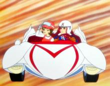 Speed Racer & Trixie Driving