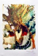 Salvador Dali (After)  Dalinean Horses Bucephale  By Georges Israel Spadem