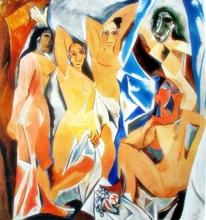 Pablo Picasso  (After) The Women Of Avignon