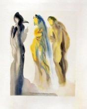 Salvador Dali (After)  1960 Divine Comedy Paradise #9