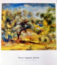 Pierre Auguste Renoir (After)  Landscape Outside Cagnes