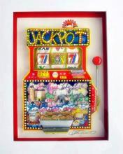 Charles Fazzino  Slots Of Fun  Slot Machine