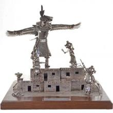 Native American Kachina Sculpture Sterling Offers Being Accepted