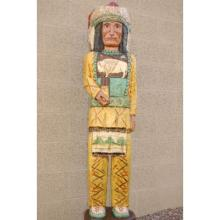 Cigar Store Wooden Indian Chief 4 feet tall