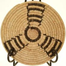 Pima Indian Basket Devils Claw Traditional Pattern