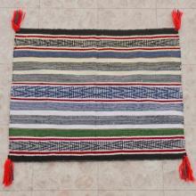 Navajo Banded Wool Rug Contemporary Saddle Blanket 26