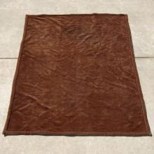Antique Lap Blanket Pre-30s Vintage Horse Hair Lap Blanket - 4' x 5'