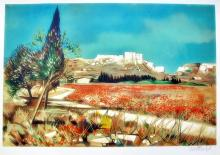 Robert Vernet Bonfort Poppies  France