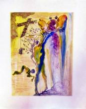 Salvador Dali (After)  1960 Divine Comedy Paradise #12
