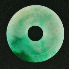 Green Mix Jade Statue