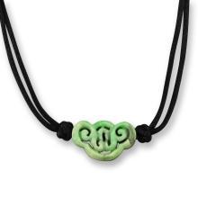Natural Green Jade - Jadeite Necklace