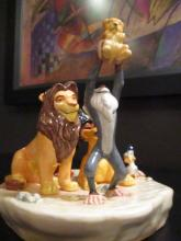 Royal Doulton Disney Lion King Circle Of Life Mint In Box Dm11 Le 377/1000