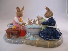 Royal Doulton Bunnykins Bath Time Le 302/400