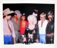 Gregg Cobarr  Dolly Parton & The Village People Photograph By Gregg Cobarr
