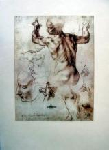 Michelangelo 1970  Studies For The Libyan Sibyl