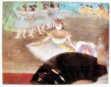 Edgar Degas Dancer With Bouquet