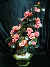 Large Jade Bonsai Flower Tree