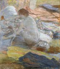 EDGAR DEGAS - WOMAN WIPING HER FEET