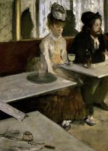 EDGAR DEGAS - IN A CAFE (ABSINTHE)