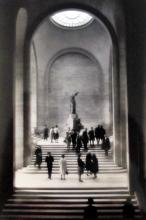 Photo Life Magazine Original 1963 Alfred Eisenstaedt Photo Life Magazine Winged Victory Louvre Paris
