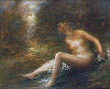 HENRI FANTIN-LATOUR - THE HUNTRESS