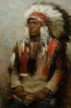 Z.S. Liang   Lakota Warrior