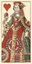 ANDREAS BENEDICTUS GöBL - QUEEN OF HEARTS (BAUERN HOCHZEIT DECK)