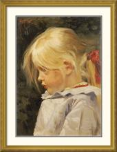 Frants Henningsen - Portrait of Ingeborg Treschow