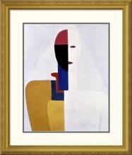 Kazimir Malevich - Female Torso II