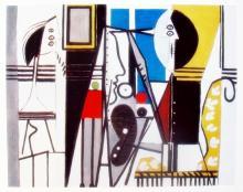 Pablo Picasso Painter In The Studio