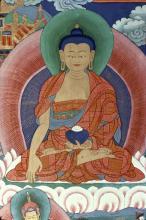UNKNOWN - TIGER'S DEN - DETAIL OF BUDDHA