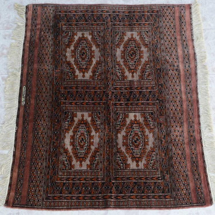 "Traditional Wool Rug Southwest Style Persian 49"" X 42"""