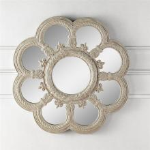Art Fleur de Lis Floral Wall Mirror