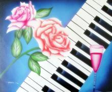 Oil Painting Romantic Music