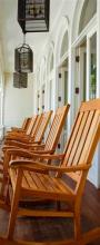 Oahu Chairs Hawaii. A Gallery Wrapped Canvas By Kelly Wade