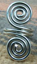 Navajo Sterling Silver Double