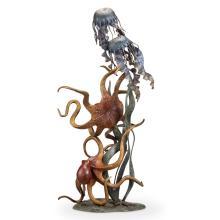 Undersea Wonders Quartet (Octopuses and Jellyfish)