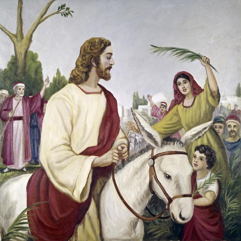 VITTORIO BIANCHINI ENTRY INTO JERUSALEM
